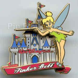 Disney Tinkerbell WDW Princess Castle Series Pin/Pins