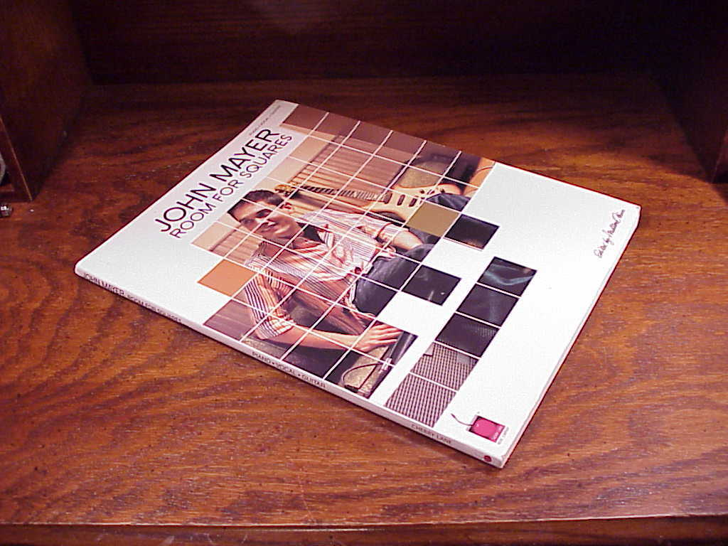 John Mayer Room For Squares Songbook for Piano, Vocal and Guitar, 13 songs