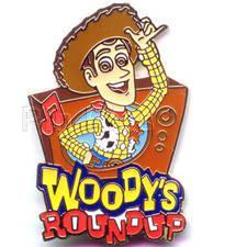 Primary image for Disney Toy Story - Woody's Round Up  Pin/Pins