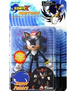 Sonic X: Super Posers Sonic Shadow 5 inch Tall Action Figure Brand NEW!  - $69.99