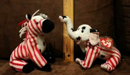 TY Beanie Babies  RIGHTY 2000 Republican elephant & LEFTY 2000 Democrat ... - $6.99