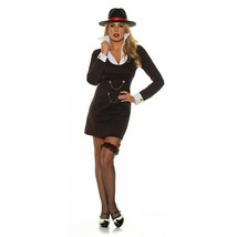 Underwraps Lady Luck 1920s Gangster Mob Adulto Donna Halloween Costume 3... - $32.54