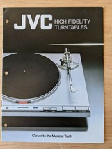 Vintage JVC High Fidelity Turntables Sales Catalog Hi-Fi Audio Brochure Japan - $14.92