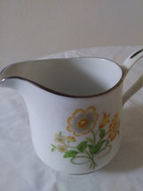 Ekco International  Exquisite Fine China Creamer  Winsford Japan Floral Generati image 5