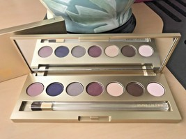 Estee Lauder 7 Eyeshadow Palette Pale Moon Amethyst Mocha Cup Berry Ice Bronze - $23.75