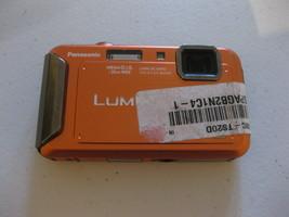 Panasonic Lumix DMC-TS20 16.1MP Digital Camera - Orange For Parts Broken - $39.59