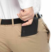 Guess Men's Premium Leather Credit Card ID Billfold Wallet Black 31GU22X003 image 5