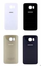 Vetro Ricambio Alloggiamento Batteria Cover Posteriore Per Samsung S6 Edge Plus - $11.39