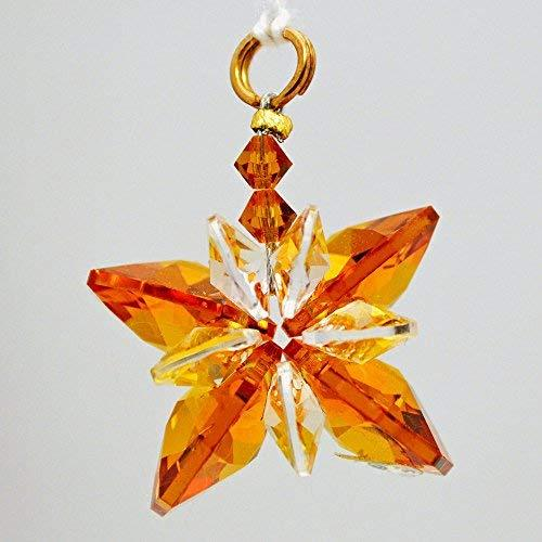 J'Leen Amber Small Crystal Butterfly