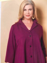 Butterick Sewing Pattern 6261 Misses Ladies Jacket Size XXL-6X New Crawford - $17.13