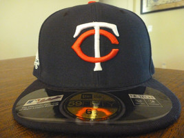 MINNESOTA TWINS NEW ERA 59FIFTY 2017 POST SEASON NAVY FITTED KIDS HAT SI... - $448,67 MXN