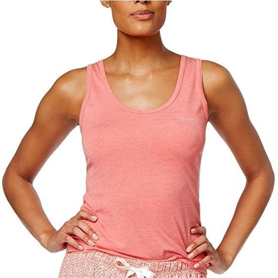 CALVIN KLEIN Liquid Lounge Sleeveless PAJAMA TOP Top Size XS - $40 - NWT