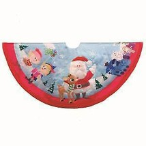 RUDOLPH THE RED NOSE REINDEER® AND FRIENDS TREE SKIRT w - $64.99