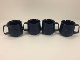 (4) Aladdin Temp-Rite Evening Blue Mug 8oz Allure Blue New Made in USA - $39.99
