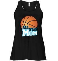 Basketball Star Mom Fan Club Women Game Day Flowy Racerback Tank - $26.95+