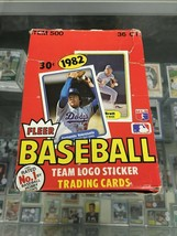 1982 Fleer Baseball 36 Sealed Packs Box Break - 9 Packs Per Spot Cal Rip... - $45.00
