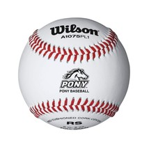 Wilson Pony League Raised Seam Baseball 12 Pack - $46.26