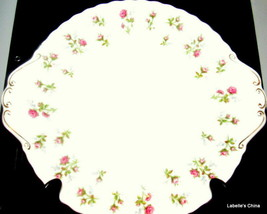 Winsome Handled Cake / Torte Plate Bone China Made in England by Royal A... - $49.45