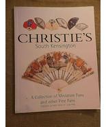 Christie's South Kensington Auction Catalog Vintage Fans May 2000 w Resu... - $29.00
