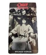 Wicked Videos [VHS] by Ozzy Osbourne (av) - $11.68