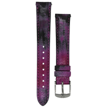 Michele 16mm Twilight Purple Patent Strap MS16AA430507 Deco 16 Lilou - $45.89