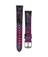 Michele 16mm Twilight Purple Patent Strap MS16AA430507 Deco 16 Lilou - $45.89