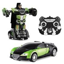 RC Transformation Car Toy JIAQI TT656 Remote Control Robot Dynamic Sound - $624,71 MXN