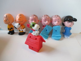 LOT 7 2015 MCDONALDS HAPPY MEAL PEANUTS CHARLIE BROWN SNOOPY LINUS TOYS - $4.94