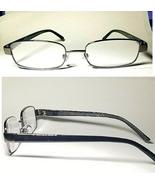2 Pair Foster Grant Sailor Gun Metal Reading Glasses Spring Hinges Black... - $15.19