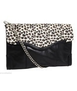 NWT Rebecca Minkoff $350 Beau Cheetah Lizard Leather Large Convertible C... - £108.39 GBP