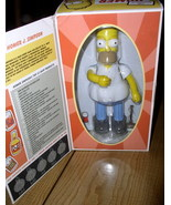 The Simpsons Homer Tin wind up w/  beer can Action - $70.49