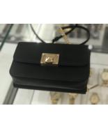 MICHAEL Michael Kors Tina Clutch Crossbody with Detachable Wallet Black Saffiano - $118.79