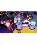Nightmare Be4 Christmas Lock Shock & Barrel 3 Figurines - $22.99