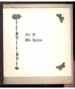 1900 Dodge memorial funeral booklett Hampton Falls NH Baptist Missionary... - $14.00