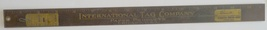 International Tag Co advertising ruler vintage Chicago IL paper products RR - $22.00