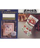 Toy Teddy Bear Stocking + Fabric Cross Stitch - $9.49