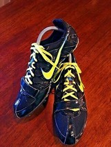 NIKE Zoom Rival Sprint 6 Spiked Running Black / Yellow 456812-070 SIZE 11 - $22.78