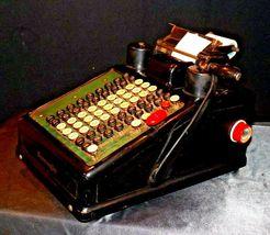 Antique Burroughs Hand Crank Adding Machine AA19-1533 image 8