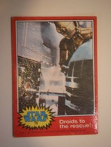 Star Wars Series 2 (Red) Topps 1977 Trading Card # 78 Droids To The Rescue - $1.49