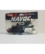 BERKLEY HAVOC BLACK EMERALD HAWK HAWG BOBBY LANE SOFT FISHING BAIT 8CT - $4.99
