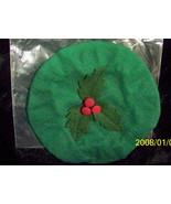 Longaberger Christmas 2003 Joyful Chorus Basket Lid Cover Ivy Green New ... - $10.84
