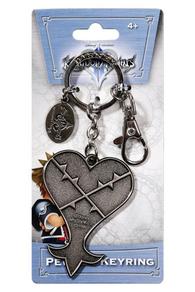 Primary image for Kingdom Hearts: Heartless Crest Key Chain Brand NEW!