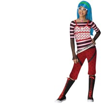 Monster High - Set - Costume + Wig - Ghoulia Yelps - Child - Large - Size 4-6 - $29.31