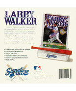 LARRY WALKER, 10-Count Signature Bat, COLORADO ... - $117.59