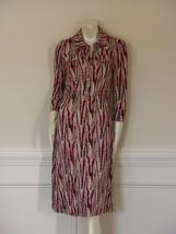 Euc - Diane Von Furstenberg Polly Dee Marble Paper Dasha Dress - Us 6 -UK 10 - $84.15