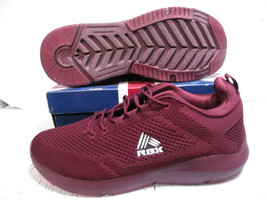 RBX LIVE LIFE ACTIVE TRAINERS SPORTS SNEAKER MEN SHOES BURGUNDY SZ 11 NEW - $59.39