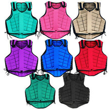 Equestrian Horse Riding Vest Safety Protective Hilason Adult Eventing U-2-MX - $62.95