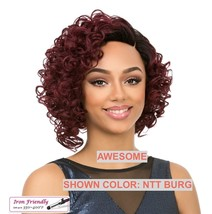IT'S A WIG SYNTHETIC WIG 'AWESOME' HEAT SAFE 350 F COLOR: NTT PURPLE