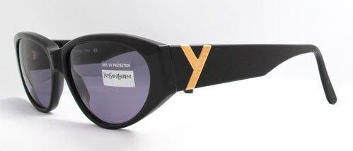 Yves Saint Laurent 6532 Y505 New Vintage Cateye Sunglas
