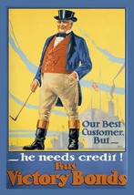 Our Best Customer But - He Needs Credit! by Malcolm Gibson - Art Print - $19.99+